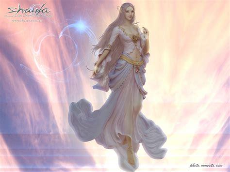 shaiya and light goddess wallpapers mmorpg photo