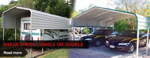 cyclone proof shade sheds for carports caravan covers