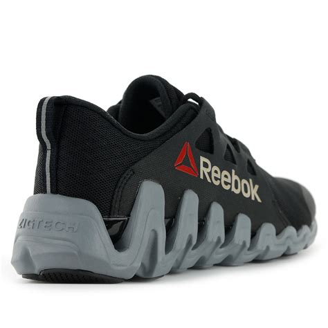 zigtech sneakers reebok zigkick big n fast zigtech black grey running shoes