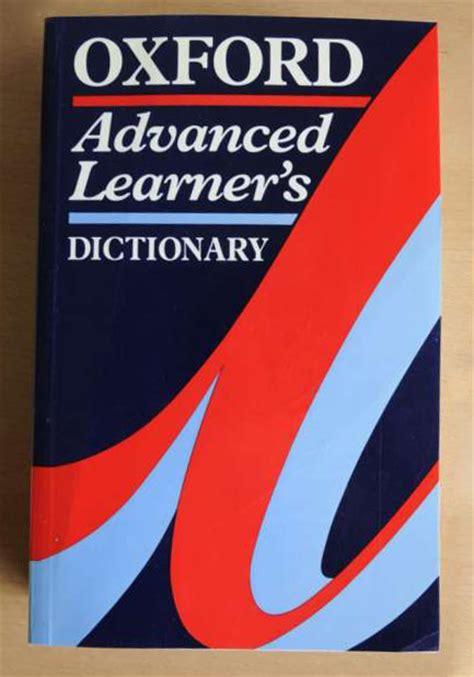 Oxford Advanced oxford advanced learners dictionary 4th edition helios bazaar