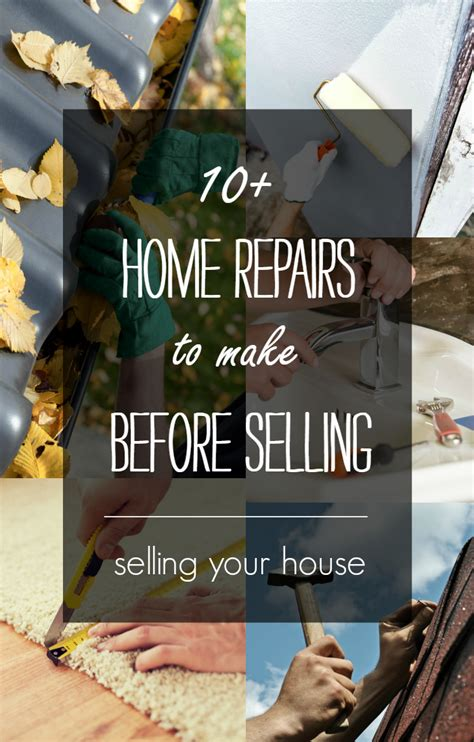 selling my house tips home selling tips repairs to make before listing it all