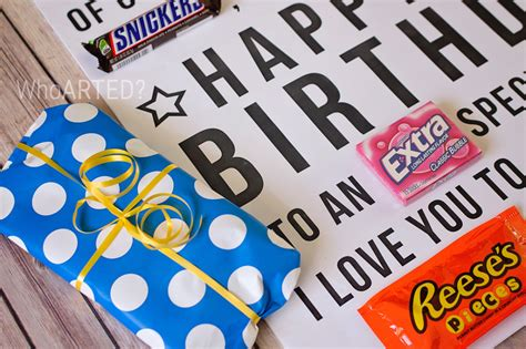 Gram Birthday Card Candy Gram Birthday Card Printable