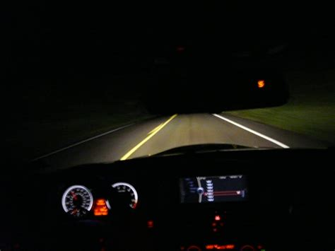 bmw headlights at night it s a challenge driving at night tips for night drivers