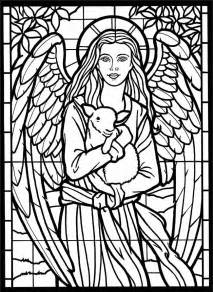 stained glass coloring books welcome to dover publications amazing stained glass