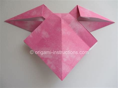 Origami Bow And Arrow - origami bow folding