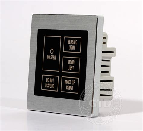 Bedside Switch hotel master touch switch bedside panel view light switch touch panel gtd product