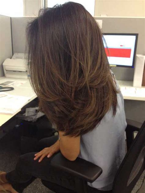 long hair short layer cut and blow out beautiful stylish long layered hairstyles for ladies long