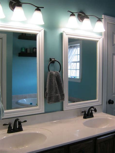 best 25 framed bathroom mirrors ideas on