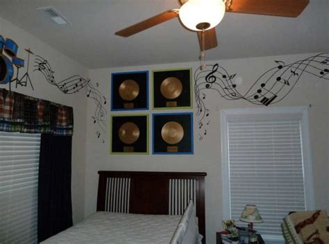 music themed bedroom decor inspiring music themed room and decoration ideas home