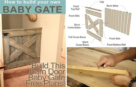 Diy Barn Door Baby Gate Diy Barn Door Baby Gate Free Plans Home Design Garden Architecture Magazine
