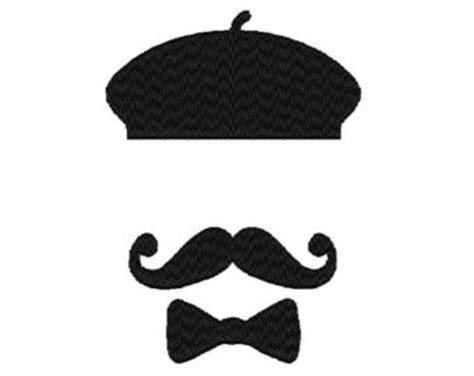mustache  bow tie clipart  clipart