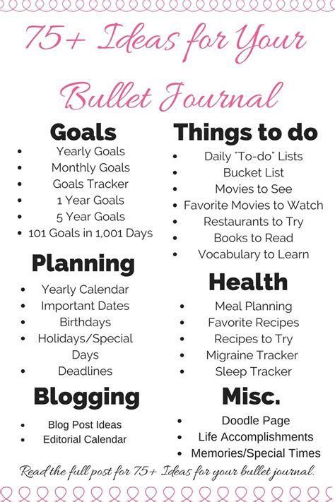 how to bullet journal 15 15 bullet journal ideas to try out for the new year