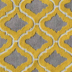 Contemporary Bathroom Rugs - district17 marrakesh yellow rug patterned rugs
