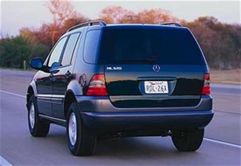 mercedes benz new car review: mercedes benz ml320 ( 1998