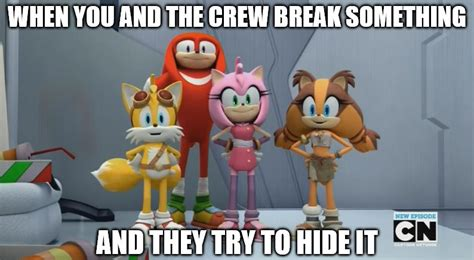 Sonic Boom Meme - the gallery for gt tsunami cartoon network
