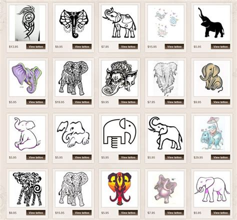 elephant tattoo meanings elephant meanings itattoodesigns