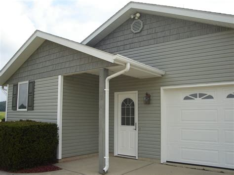 houses with shake siding dutch lap vinyl siding w shake gables edgerton ohio jeremykrill com