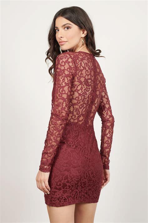burgundy dress long sleeve dress royal burgundy dress