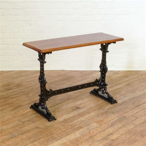 Antique Bar Table Cast Iron Pub Table 346275 Sellingantiques Co Uk