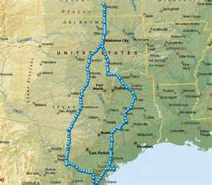 king ranch map