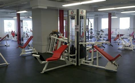 Weight Room Equipment by Springville Health Fitness