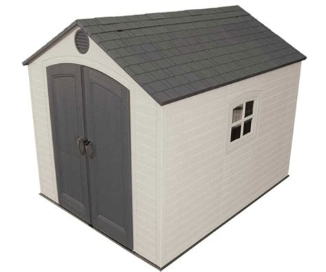 8x10 Rubbermaid Shed by Lifetime Outdoor Shed 60018 8x10 Ft Storage Unit