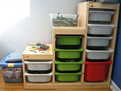 container store lego table ikea storage for legos conor s lego room