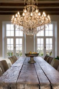 Dining Room Farm Tables 34 Farmhouse Dining Rooms And Zones To Get Inspired Digsdigs
