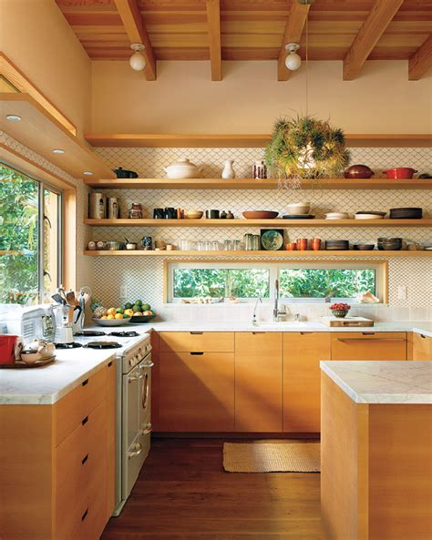 Brickhouse Kitchen by Get This Look Park House With Oak Kitchen Cabinets