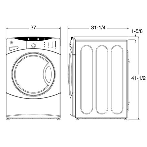 Standard Laundry Closet Dimensions by 25 Best Ideas About Stackable Washer Dryer Dimensions On
