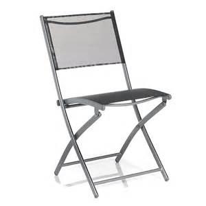 chaise de jardin pliante grise lemon d 233 coration