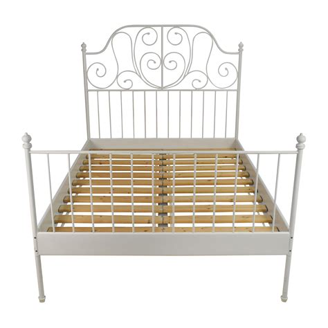 full size bed and frame 74 off ikea ikea leirvik full size bed frame beds