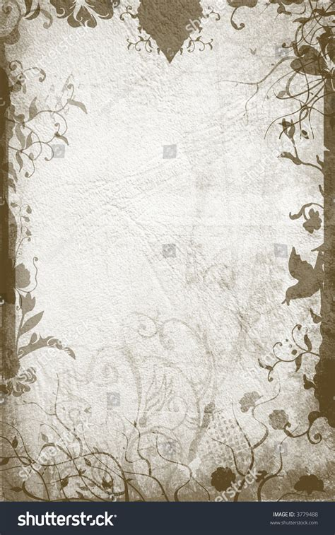 grunge page with floral border stock illustration illustration of fashioned aged 2582659 grunge page paper texture floral borders stock illustration 3779488