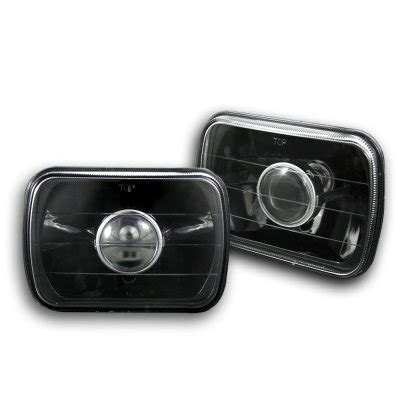 chevy s10 1982 1993 black 7 inch sealed beam projector