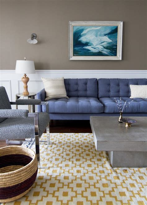 blue and taupe living room photos hgtv