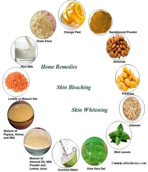 Home Skin Remedies by Home Remedies For Skin Bleaching Whitening Include Gram