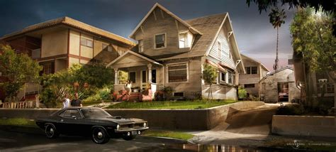 Fast And Furious House by Furious 7 Concept By Dean Sherriff Concept World