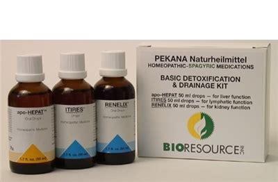 Pekana Basic Detox Drainage Kit by Basic Drainage Detox Kit By Pekana