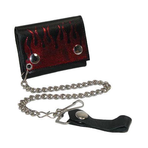 Chain Wallet by Mens Leather Trifold Chain Wallet By Ctm 174 Chain Wallets
