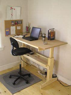 1000 Images About Diy Standing Desk On Pinterest Build Your Own Adjustable Height Desk