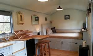 Modern Log Home Interiors by 20141206sa Shepherds Hut Wagon Retreat Tiny House Interior