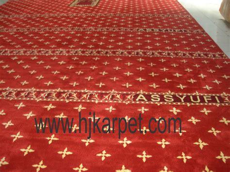 Karpet Plastik Per Meter Di Bandung masjid assyufi jual karpet masjid hjkarpet