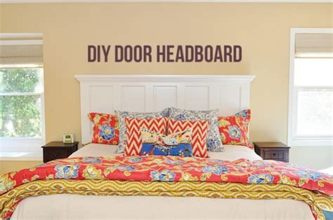 how to make a door a headboard unique diy headboard ideas that are downright dreamy lim s