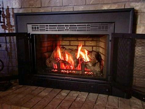 Convert Wood Fireplace To Gas Video Diy Convert Gas Fireplace To Wood