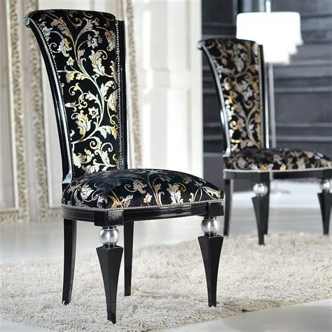 Black Velvet Wood Dining Chair   The Chair Market