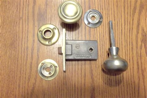 Interior Mortise Door Hardware by Antique Vintage Norwalk Interior Mortise Door Set With