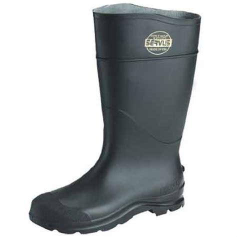 servus rubber boots servus men s pvc steel toe 16 rubber boot 18821