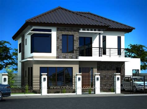 House Design Cm Builders Zen Modern House Plans