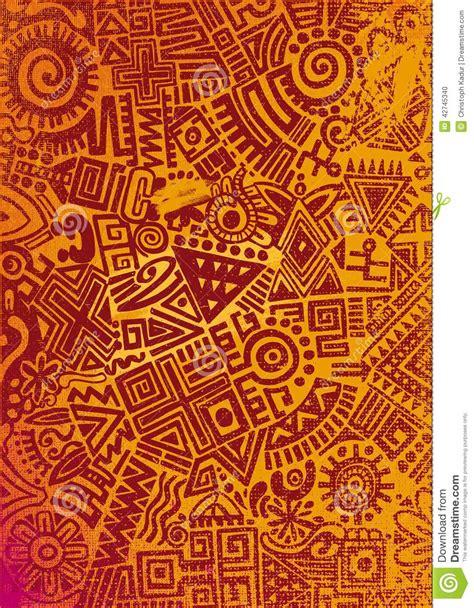 tapis inca tapis mexicain illustration stock image du vieux avec