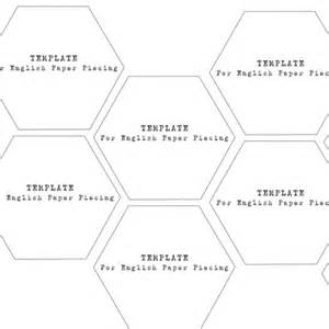 quilting hexagon templates free hexagons 1 3 4 inch templates caroline